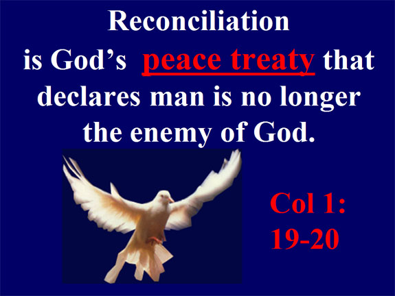 jesus christ and reconciliation 2 corinthians 5:19 - namely, that god was in christ reconciling the world to himself, not counting their trespasses against them, and he has.