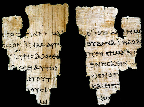 Carbon dating new testament